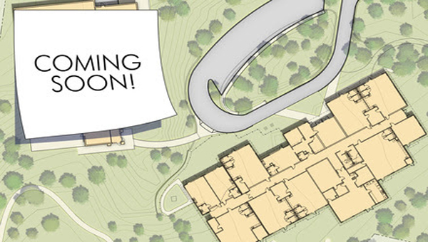 Here is an aerial view of Hilltop Montessori School and where the new expansion will be located on campus. (Contributed)
