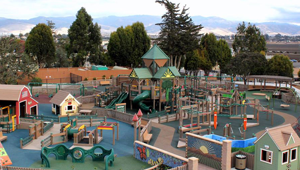 Tatum's Garden in Salinas, Calif., is an all-inclusive playground built and designed by Leathers & Associates. Pelham will soon see an all-inclusive playground of its own in Carly's Clubhouse. (Contributed)