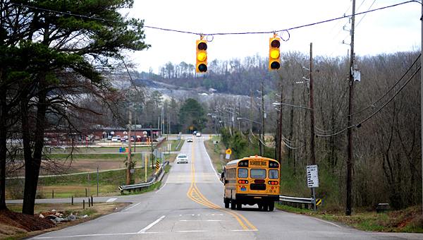 A project to upgrade Thompson Road from Alabama 119 to Warrior Drive likely will begin in spring 2015. (File)