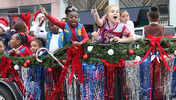 The Calera Christmas Parade was reinstated and will be held Saturday, Dec. 6 at 6 p.m. (File)