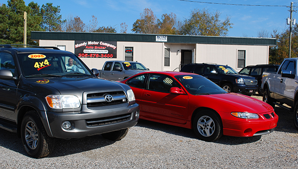 Mundy Motor Company has relocated and opened its store on West College Street in Columbiana. (Reporter Photo/Graham Brooks)