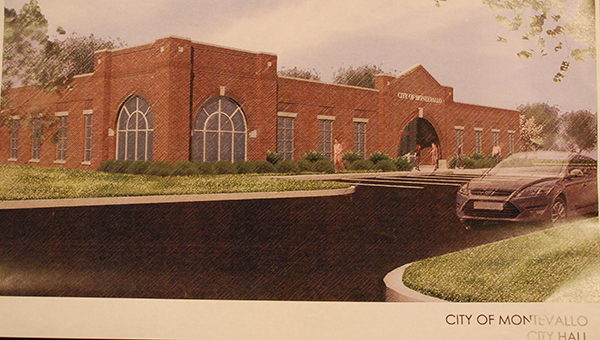 Funding plans to construct a new city hall building that will also house the police department was approved by the Montevallo City Council on Monday, Nov. 24. (Reporter Photo/Graham Brooks)