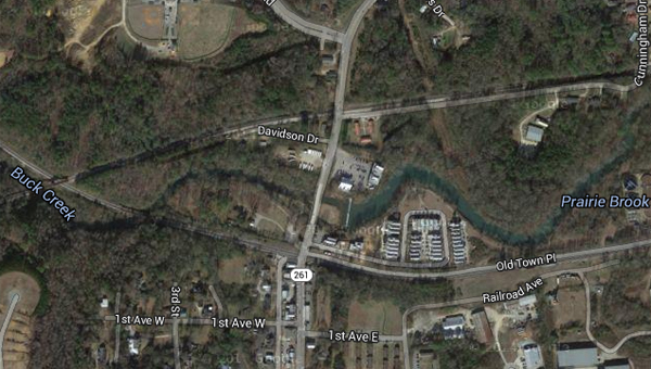 CSX plans to close a railroad crossing on Shelby County 261 in Helena for repairs on Nov. 20. (Contributed)