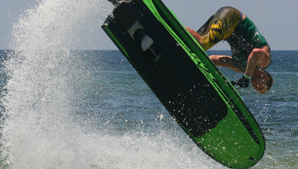 Pelham's Peter Waldron is a nationally and internationally watercross jet skier and competes across the country on the Watercross Pro Tour. (Contributed)