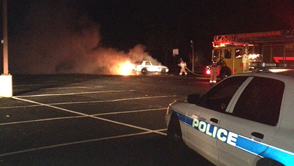 The Alabaster Police Department is still investigating a vehicle fire involving one of its patrol cars. (File)