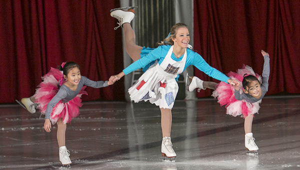 Skaters perform in last year's Pelham Civic Complex and Ice Arena holiday ice show. This year's production will take place Dec. 12-14. (Contributed)