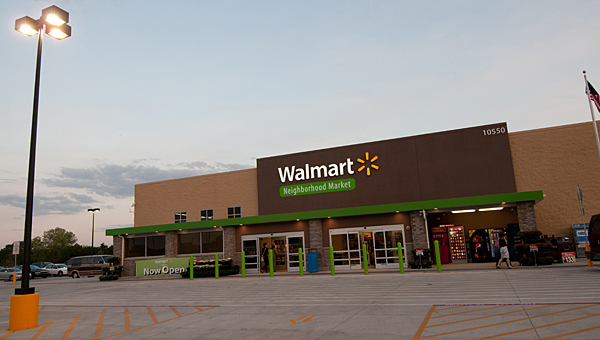 The Walmart company is looking to bring a Neighborhood Market to Alabama 119 in Alabaster. (Contributed)