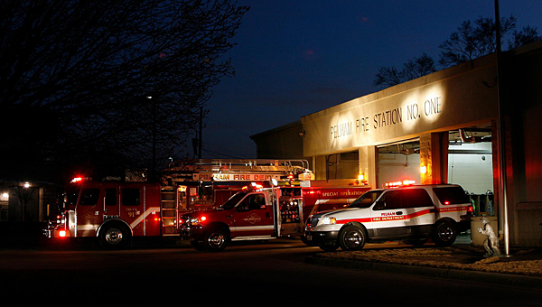 The Pelham Fire Department will escort Santa Claus through the city on Dec. 24. (Contributed)