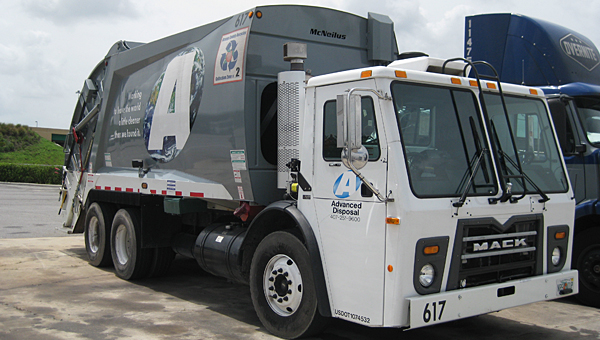 Advanced Disposal will offer weekly recycling to Alabaster residents beginning in January. (Contributed)