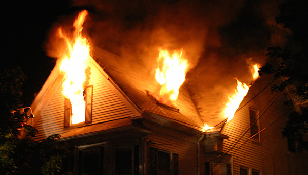Local firefighters report an increase in house fires during the winter season. (Contributed)