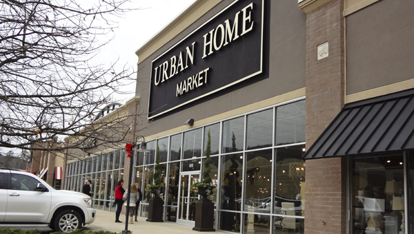 Urban Home Market, a home furnishings and decor store, opened in the Lee Branch shopping center Dec. 19. (Reporter Photo/Emily Sparacino)