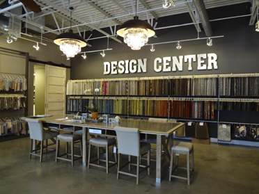 A design center is where customers can look through fabric swatches and receive free assistance from qualified designers in creating their dream home. (Reporter Photo/Emily Sparacino)