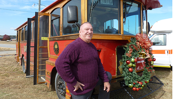 Mayor Stancil Handley will lead a guided historical Christmas tour on the Columbiana trolley on Dec. 11 and 12 at 6 p.m. and 7 p.m. Tickets are available at Busy Hands and Davis Drugs. (Contributed)