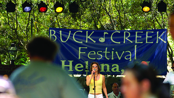 An art contest will be held for the design of the cover art for the 2015 Buck Creek Festival in Helena. The winner will receive a $100 check. (File)