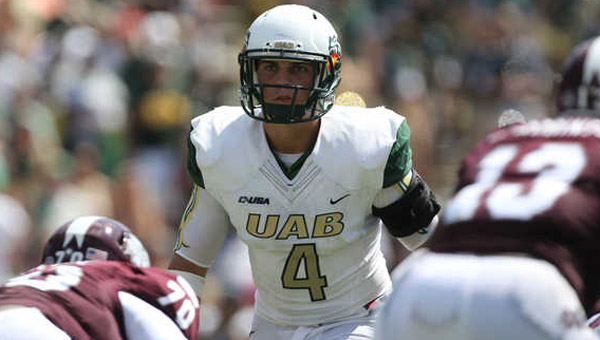 Jake Ganus, former Chelsea H.S. and UAB linebacker, will suit up for the University of Georgia in 2015 after the UAB football program was shut down in December 2014. (Contributed)