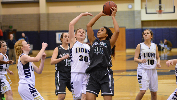 The Pelham High School girls basketball team came up short against the Briarwood Lions on Friday night, Jan. 16. (Contributed/David Jacks)