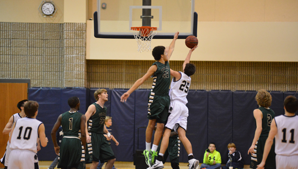 The Pelham Panthers took down the Briarwood Lions in overtime on Friday night, Jan. 16. (Contributed/ David Jacks)