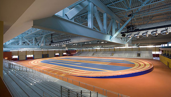 The Birmingham Crossplex played home to the Martin Luther King Indoor Track & Field Classic on Jan. 19. (Contributed)