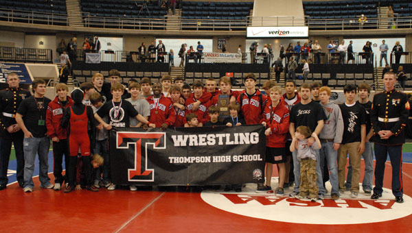 Thomspon High School had a good showing at the Shelby County Duals event held at Oak Mountain on Jan. 19. (File)