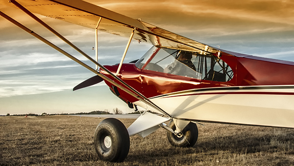 Don Wade sits in his newly built Carbon Cub EX aircraft. It took him and his crew about two months to build the plane. (Contributed)