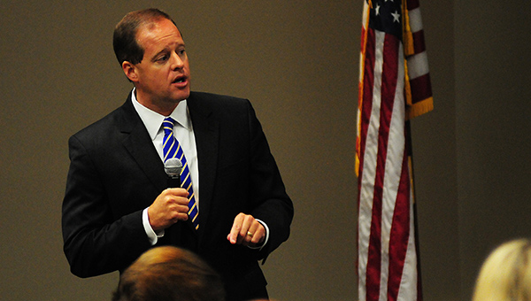 State Sen. Cam Ward, R-Alabaster, is fighting to strengthen the state's Open Meetings Act. (File)