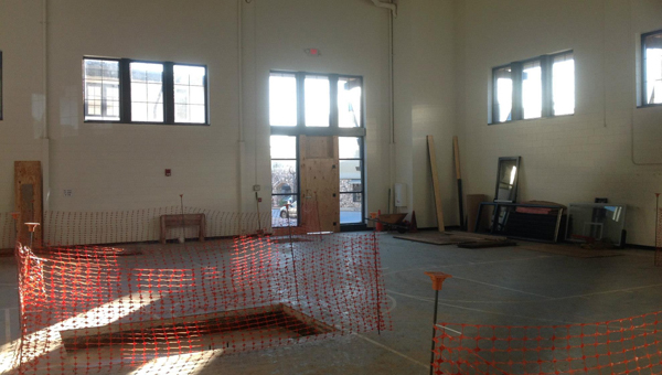Double Oak Community Church is undergoing an $875,000 renovation to change the gym into an educational space. (Contributed)