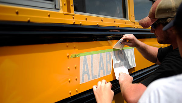 The Alabaster City School System is purchasing some air-conditioned school buses. (File)