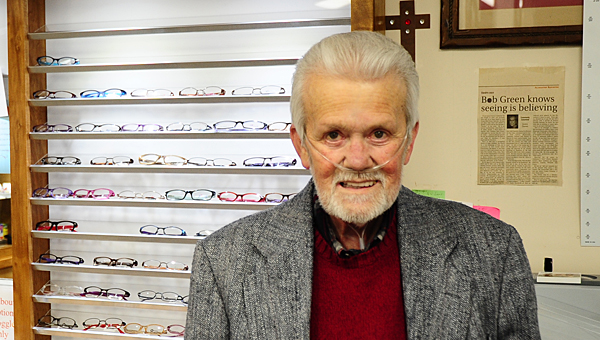 Bob Green, owner of Bob Green's Alabaster Optical on U.S. 31, has survived multiple near-death experiences over the past several years. (Reporter Photo/Neal Wagner)