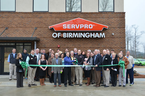 Servpro of Birmingham opened the doors to their new facility in Pelham at a grand opening ceremony on Jan. 15. (Reporter Photo/ Jon Harrison)