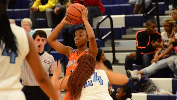 Lauren Lilly has the Lady Bulldogs poised to make a run at the 4A Elite Eight if they can get by Munford on Feb. 12. (File)