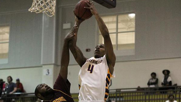 Larry Slaughter and the Montevallo Falcons are on a seven-game win streak following their 69-59 win against Georgia Southwestern on Feb. 4. (Contributed)