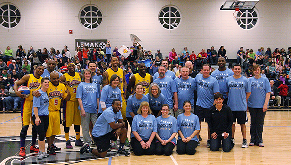 The Helena Band-Its hosted the Harlem Wizards on Tuesday, Feb. 10 and wowed the audience with proceeds going towards the HHS Band. (Eric Starling/For the Reporter)