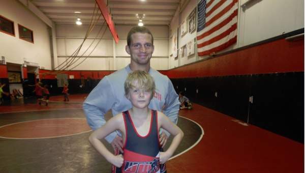 The Warrior Wrestling Club in Alabaster trains young wrestlers from all over Shelby County. (Contributed)