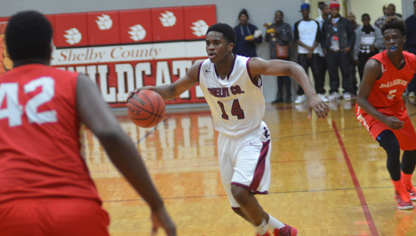 Quinterrious Montgomery will look to lead the Wildcats of Shelby County next season. (Reporter Photo / Baker Ellis)