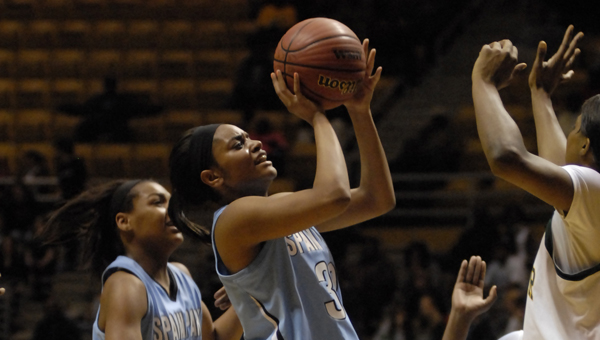 Spain Park's impressive season came to an end on Feb. 12 to Gadsden City. The Lady Jaguars ended with a 25-9 record. (File)