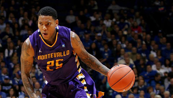 Montevallo's Troran Brown scored his 1,500th career point in a Feb. 7 loss to North Georgia. (Contributed)