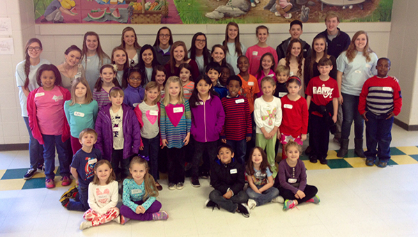 Helena Elementary and Helena Intermediate Schools have jointly initiated a Peer Helper Program on their school campuses. (Contributed)