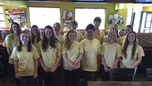 Chelsea High School's Future Business Leaders of America members volunteered at the Chelsea Business Alliance's Flapjack Fundraiser on Feb. 7. (Contributed)