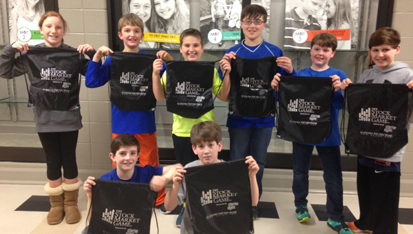 Forest Oaks Elementary School Gifted Education students placed among the top 10 out of nearly 350 teams in the Stock Market Game. (Contributed)