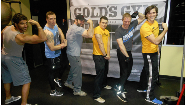 Gold's Gym has been around for 50 years, and continues to accommodate both professional athletes and the everyman. (Contributed)