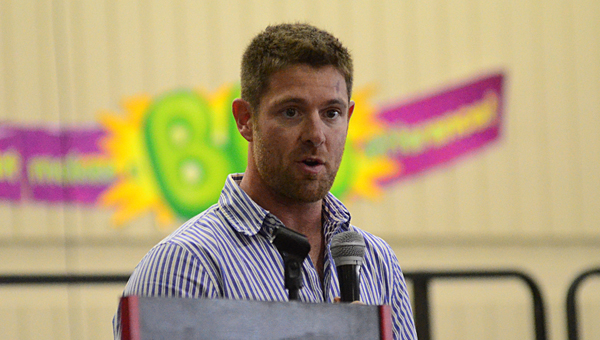 U.S. Army Sgt. Noah Galloway, an Alabaster resident and recent winner of the Men's Health Magazine Ultimate Guy contest, will compete in season 20 of Dancing with the Stars. (File)
