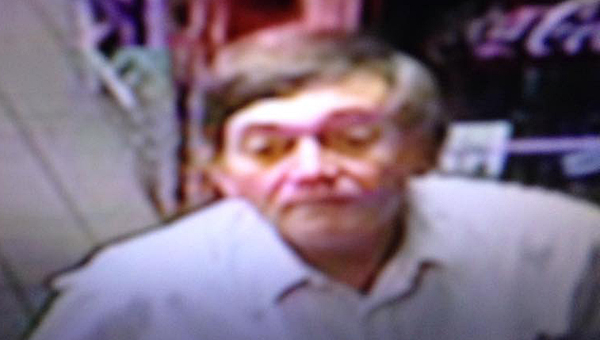 The Alabaster Police Department is looking for help in identifying this man, who may have been involved in a theft at an Alabaster gas station. (Contributed)