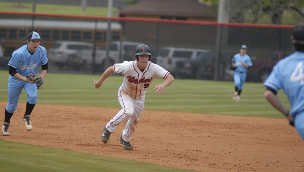 The Thompson baseball Warriors fell to Hartselle on March 3 by a final of 8-7. (File)