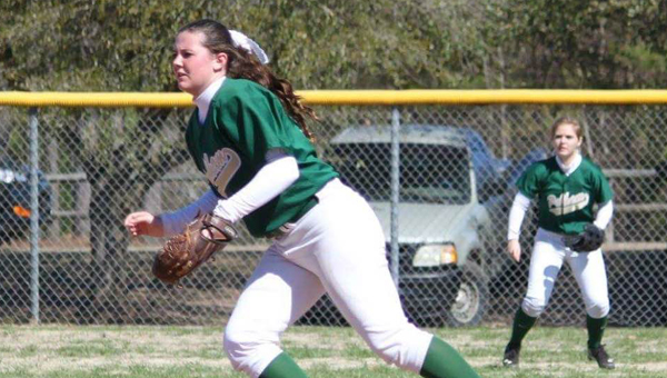 Dalton Merrill and the Pelham Lady Panthers hung on for a 2-1 victory over Pinson Valley on March 9. (Contributed)