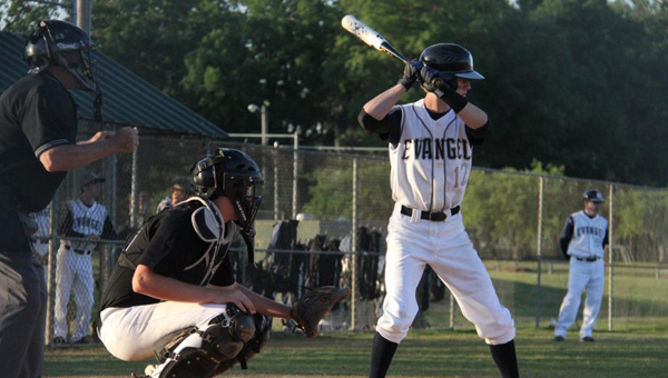 Andrew Thompson and the Evangel baseball Lightning won four games from March 14-16 by a combined score of 47-3. The Lightning advanced to 9-0-1 after the two-day stretch. (File)