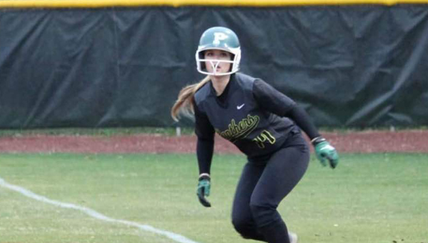 Steeley Martin and the Pelham Lady Panthers throttled Fairfield on March 17 by a final of 15-0. (Contributed)