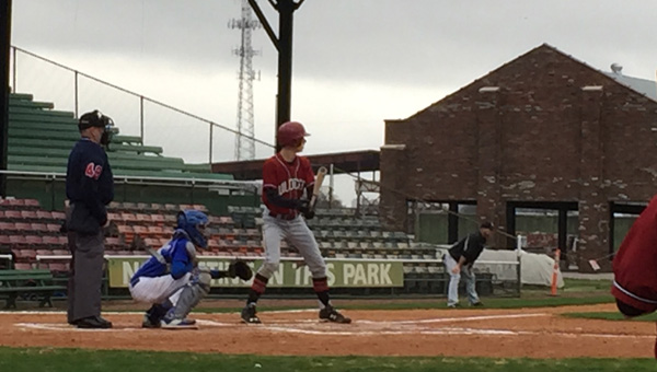 Shelby County took down Ramsay at historic Rickwood Field in Birmingham on March 13. (Contributed)