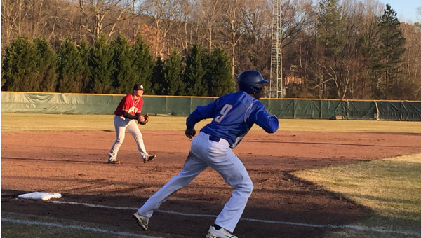 Shelby County took down visiting Montevallo on Feb. 27 by a final score of 4-3 after the Wildcats were able to stave off a Montevallo comeback attempt. (Contributed)