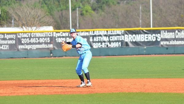 Spain Park fell to the visiting Mountain Brook Spartans by a final of 1-0 on March 24. (Reporter Photo / Baker Ellis)