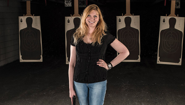 On top of her full-time job as mother of three, Chelsea's Beth Alcazar is also a firearms instructor and voice for women in the world of firearms. (Contributed)